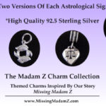 Sterling Silver Astrology Charms