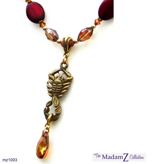 Hand Crafted Zodiac Necklace (SCORPIO) € 55.00
