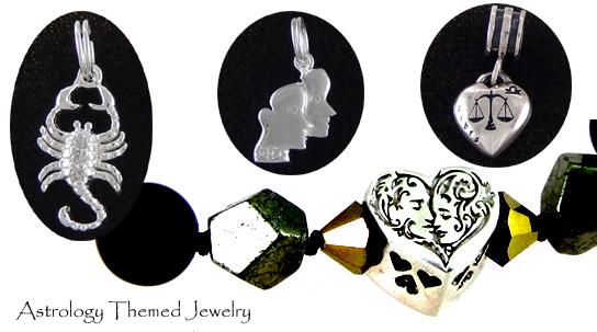 Astrology Jewelry - Missing Madam Z / www.MissingMadamZ.com