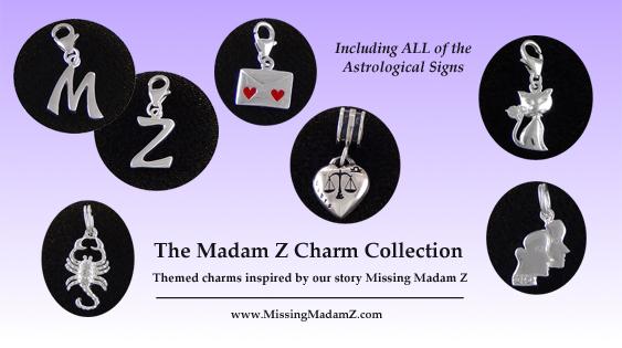 Madam Z Sterling Silver Charms / www.MissingMadamZ.com