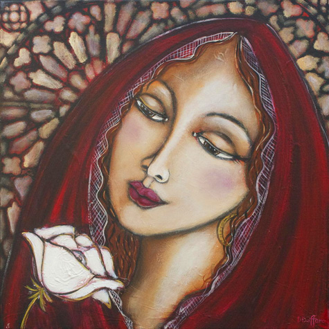 900 × 900Images may be subject to copyright Mary Magdalene Painting by Denise Daffara
